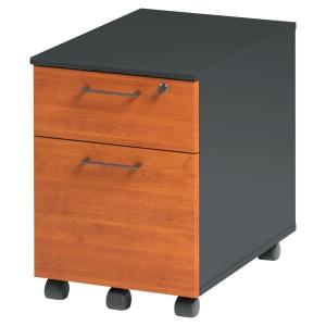 Caisson mobile 2 tiroirs Jazz finition aulne
