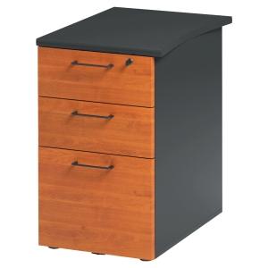 Caisson bout de bureau 3 tiroirs Jazz+ finition aulne