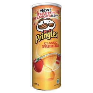Bte chips pringles paprika 175g