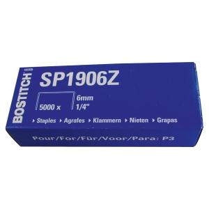 Agrafe Bostitch SP19 1/4 - 6 mm - boîte de 5000