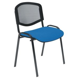 Chaise 4P réunion - dossier résille - Empilable
