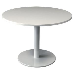 TABLE DE REUNION RONDE PIED TULIPE Ø 120 CM BLANCHE