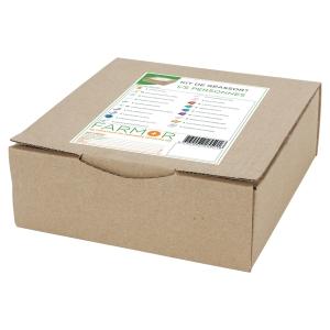 Kit de remplissage complet pour armoire à pharmacie pour 1 à 5 personnes