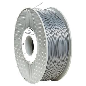 Filament d impression 3D Verbatim - PLA-S - 1,75 mm - 1 kg - argenté