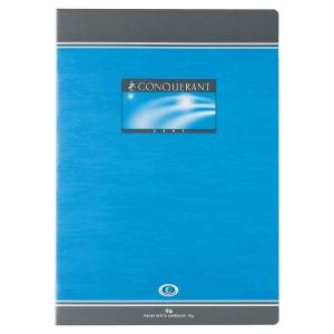 Cahier piqure conquerant A4 70g 96 pages quadrille 5x5 nf