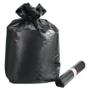 Sac poubelle pour déchets lourds - 160 L - 55 microns - noir - 100 sacs