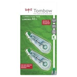 Roller de correction Tombow Mono Air - 10 m x 4,2 mm - lot de 2
