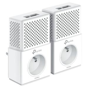 Prise CPL TP-Link TL-PA7020P - 2 ports Ethernet Gigabit - kit de 2 prises