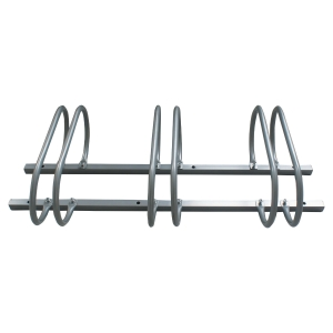Support 3 vélos Viso - acier gris métal