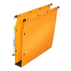 Dossier suspendu Elba - armoires - polypropylène 50 mm - jaune - boîte de 10
