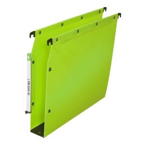 Dossier suspendu Elba - armoires - polypropylène 50 mm - vert - boîte de 10
