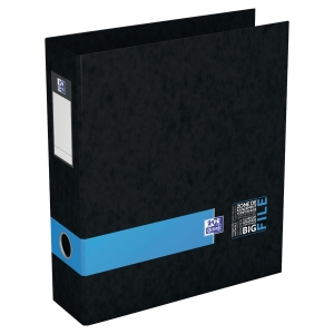 Classeur Oxford Bigfile à levier - dos 80 mm - bleu - boîte de 10