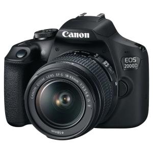 Appareil photo numérique reflex Canon EOS 2000D - 24,1 Mpx
