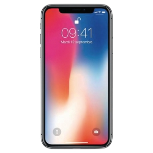 Smartphone Iphone X Apple 256go gris