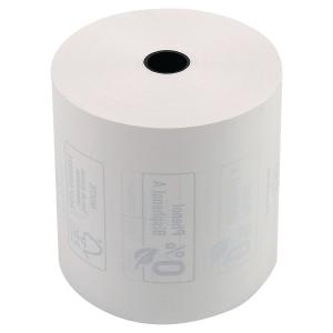 Bobine thermique Exacompta - 1 pli - 80 x 80 x 12 mm - sans phénol - lot de 10