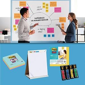 Pack solution de réunion Post-It - Brainstorming
