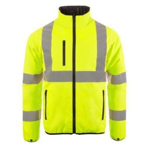 Blouson haute visibilité réversible Codupal Natan Zipal - jaune fluo -taille 2XL
