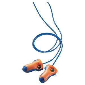 Bouchons d oreilles détectables cordés Honeywell Laser Track - 35dB - 100 paires