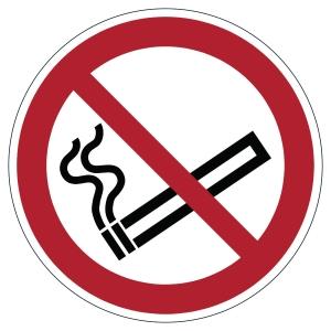 Pictogramme de marquage au sol - interdiction de fumer