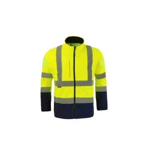 Blouson haute visibilité Codupal Softshell Zoé Zipal - jaune fluo - taille 4XL