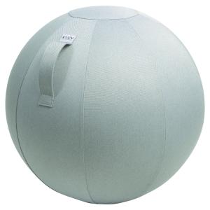 Ballon d assise dynamique VLUV LEIV gris argent 65 cm