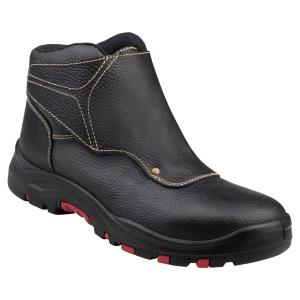 Paire de chaussures montantes soudeur Deltaplus Cobra 4 S3 SRC noires P 40