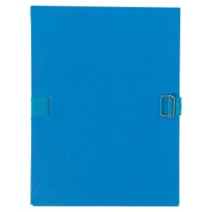 Chemise extensible à sangle - dos 10 cm - bleue