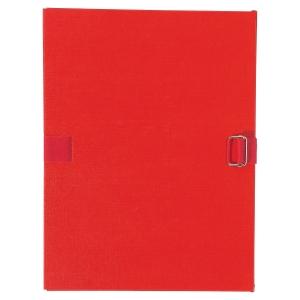 Chemise extensible à sangle - dos 10 cm - rouge