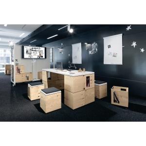 Table bureau Bene Pixel - 180 x 72 cm