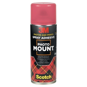 COLLE EN AEROSOL ASSEMBLAGE DEFINITIF 7024 PHOTO MOUNT 3M 400ML