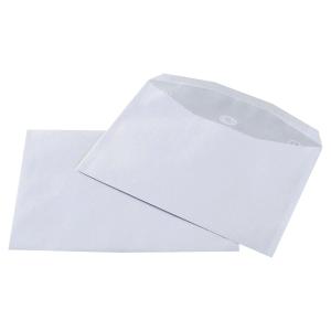 Boite 500 enveloppes blanches mise sous pli c5 162x229 80g patte trapeze