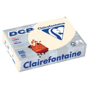 RAMETTE 500 FEUILLES DCP CLAIREFONTAINE 100G A4 IVOIRE FSC