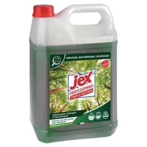 Bidon jex professionnel express desinfectant sans javel foret landes 5l