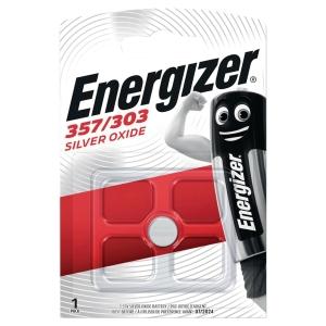 Pile bouton oxyde d argent Energizer 357/303 1.5v