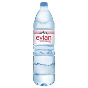 Carton de 12 bouteilles d eau evian 1,5 litres