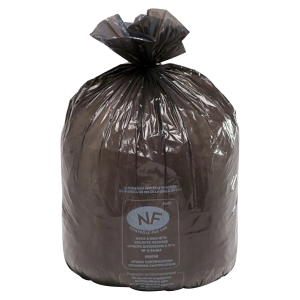 Carton de 200 sacs poubelles 240 litres noir pour dechets lourds