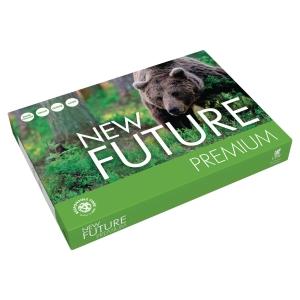 Ramette 500 feuilles papier blanc repro new future premium 80g A3 fsc