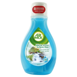 Flacon meche active airwick 2 en 1 eau fraiche 375 ml