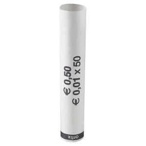 Carton de 2500 tubes preformes papier recyclables 1 centime d  euro