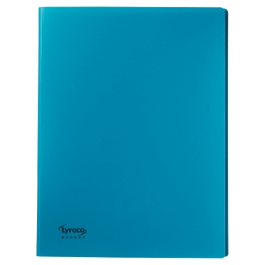 Reliure souple Lyreco budget 40 pochettes 80 vues vert