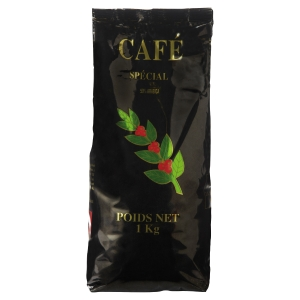 PAQUET DE 1 KG DE CAFE 50% ARABICA ET 50% ROBUSTA MOULU