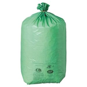 Carton 200 sacs poubelles ecologiques green 110l 42 microns 700x1100