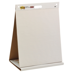 TABLE TOP CHEVALET DE CONFERENCE NOMADE 20 FEUILLES PAR BLOC 50X58,4CM
