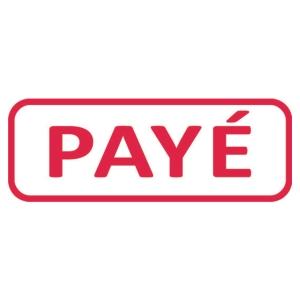 Tampon formule Trodat 4912 - payé - encrage automatique
