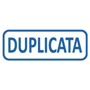 Tampon formule Trodat 4912 - duplicata - encrage automatique