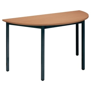 TABLE DE CONFERENCE BURONOMIC DEMI-LUNE 120 CM HETRE
