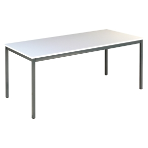 TABLE DE BUREAU BURONOMIC L.160 X P. 80 X H. 74 CM FINITION GRISE