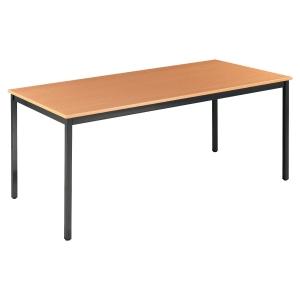 Table de conférence, 160x80cm, hêtre