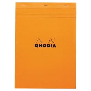 BLOC RHODIA AGRAFE EN-TETE A4 80G 80 FEUILLES QUADRILLE 5X5