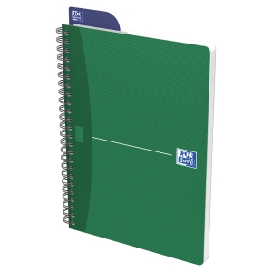 CAHIER OXFORD OFFICE   THE ESSENTIALS   A4 100 PAGES QUADRILLE 5X5 SPIRAL
